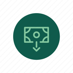 cash, deposit, money, payment, payout, withdraw, withdrawal icon