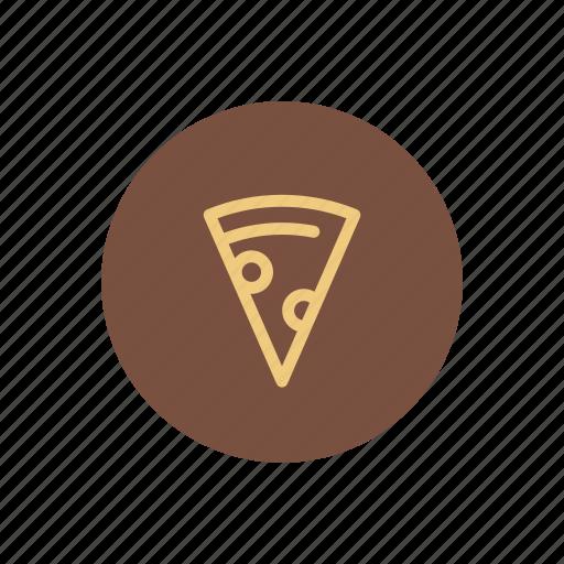 fast food, food, italian, italy, pepperoni, pizza, slice icon