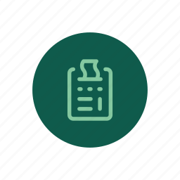 accounting, billing, calculator, expenses, pos, purchase, receipt icon