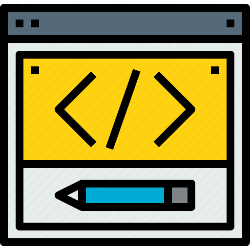 browser, coding, web, website icon
