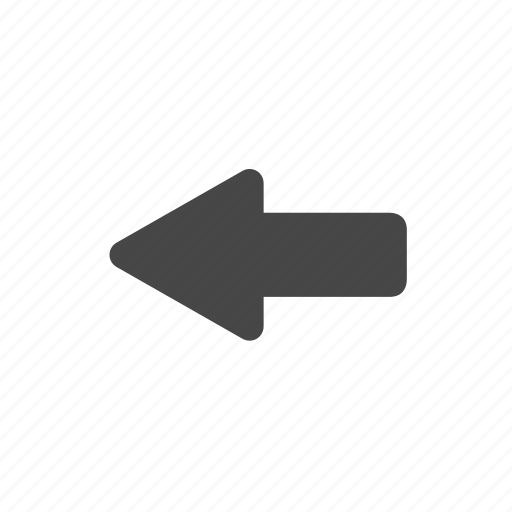 arrow, browser, left, navigation icon