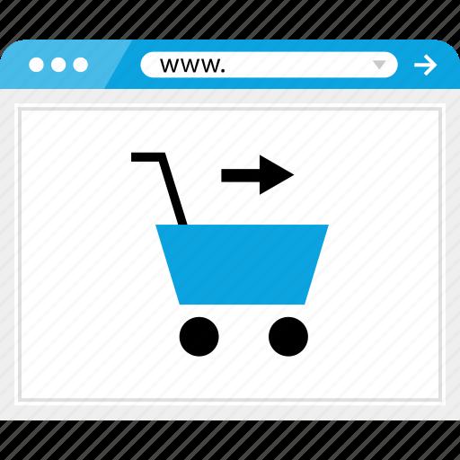 add, arrow, cart, forward, go, next, shopping icon