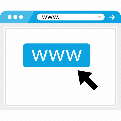 click, mouse, track, web, website, www icon