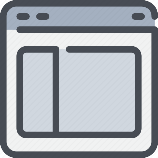 Browser, interface, layout, website icon - Download on Iconfinder