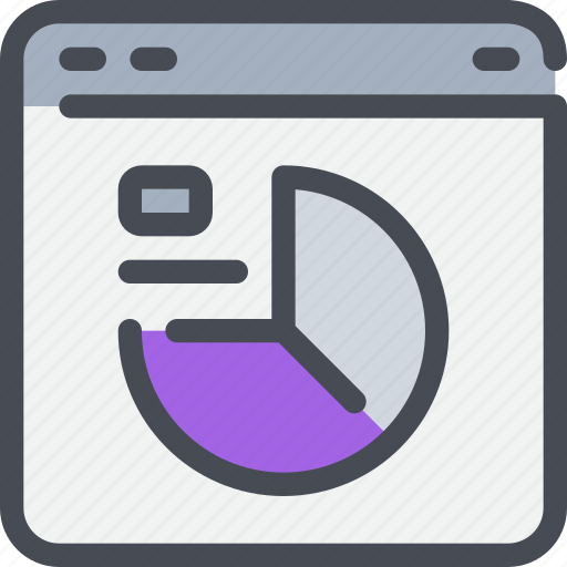 browser, data, database, interface, website icon