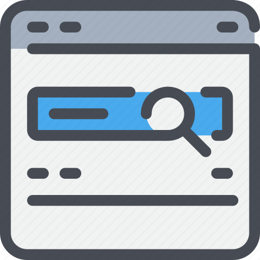 browser, interface, search, website icon