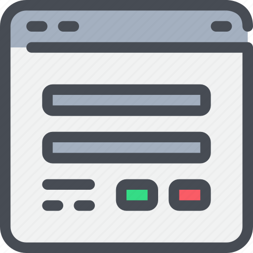 browser, interface, login, secure, security, website icon