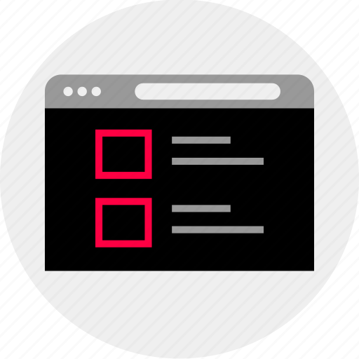 blog, mockup, online, post, quick, wireframe icon