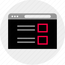 mockup, online, post, quick, wireframe icon