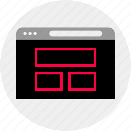 mockup, online, quick, web, website, wireframe icon