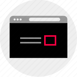 mockup, online, post, quick, single, wireframe icon