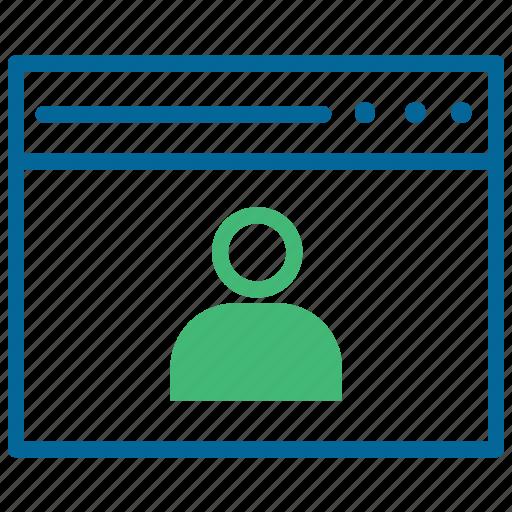 account, profile avatar, social media, user profile icon