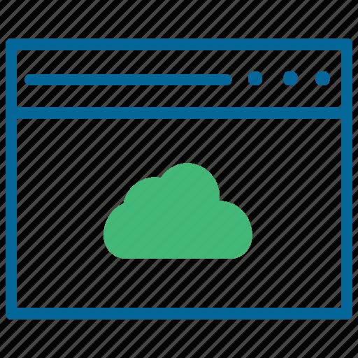 cloud storage, download, saas, synchronization, upload icon