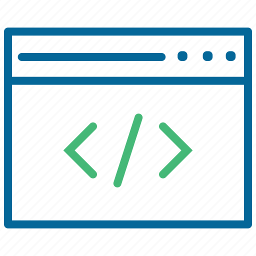 browser, coding, web content, web design, web development, website icon