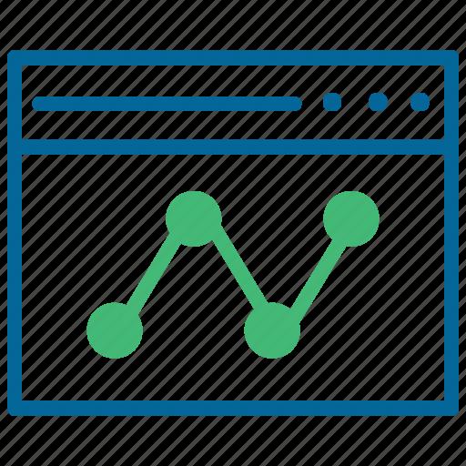 Analytics, dashboard, graph, growth, sales chart, statistics icon - Download on Iconfinder
