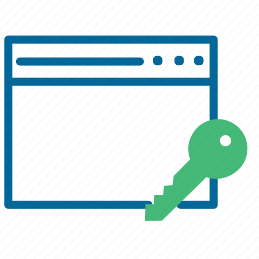 authentication, authorize, encrypted website, protected, secure, ssl connection icon