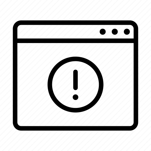 browser, error, online, problem, ui icon