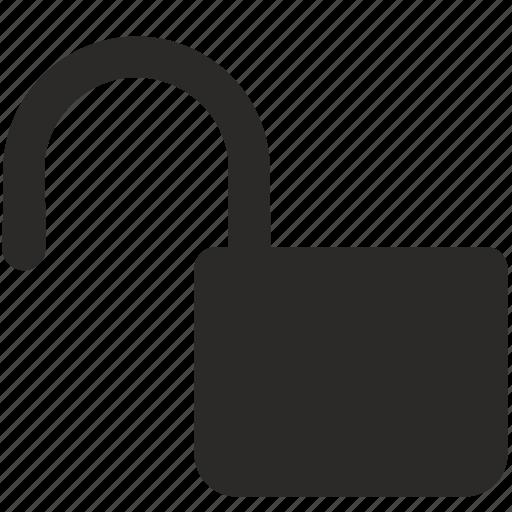 configuration, open, security, unlock icon