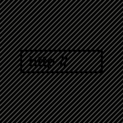 address, domain, link, marketing icon