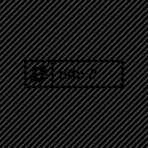 address, domain, link, web icon
