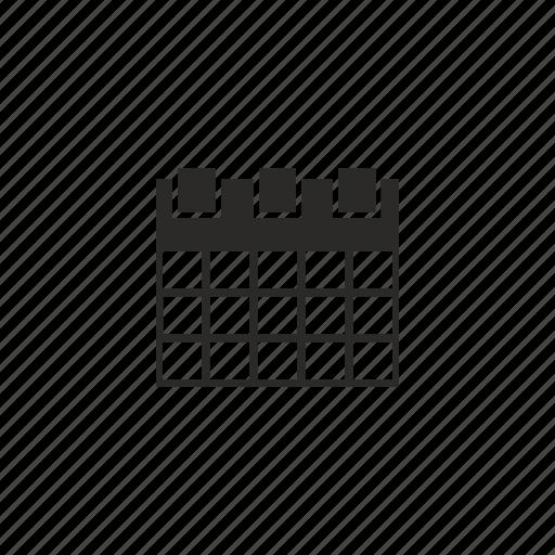 calendar, estimate, management, optimization icon