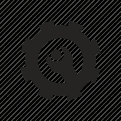 configuration, control, gear, machine icon