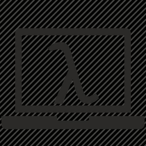 alphabet, greek, lambda, letter icon