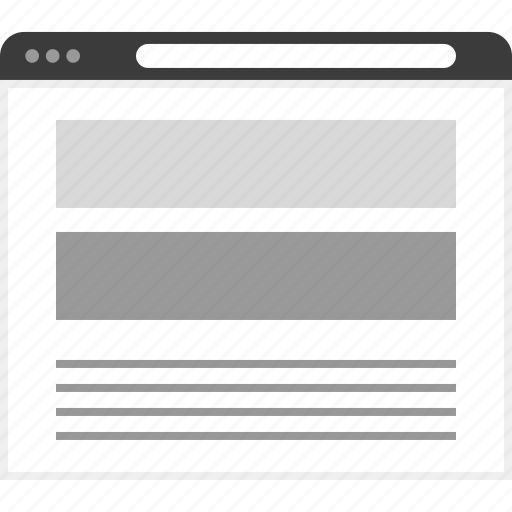 banners, frame, layout, net, two, website icon