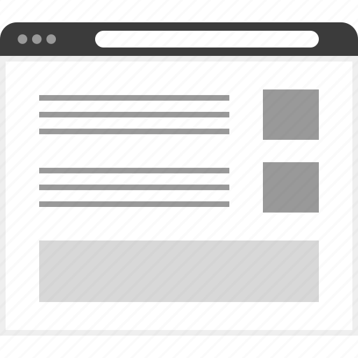 frame, layout, net, post, two, website icon