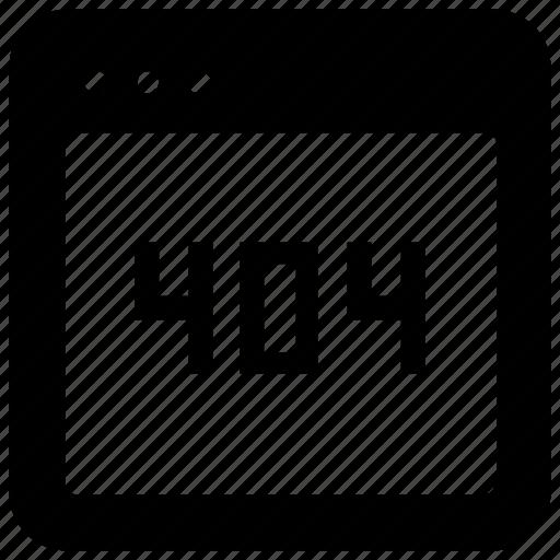 Browser, error, webpage, website icon - Download on Iconfinder