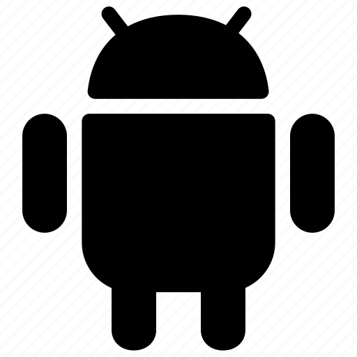 android, cell phone, creative, device, grid, mobile, mobile-operating-system, operating-system, os, robot, samsung, shape, smartphone, tablet, technology icon