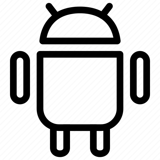 android, cell phone, creative, grid, mobile, mobile-operating-system, operating-system, os, robot, samsung, shape, smartphone, technology icon