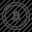 bitcoin, btc, coin icon
