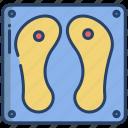 buddhas, footprint