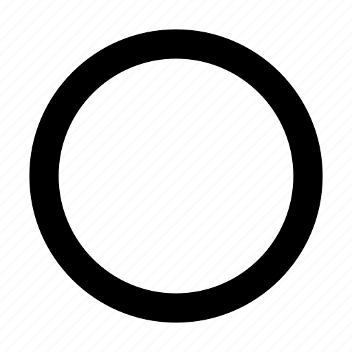 circle, circular, geometry, shape icon