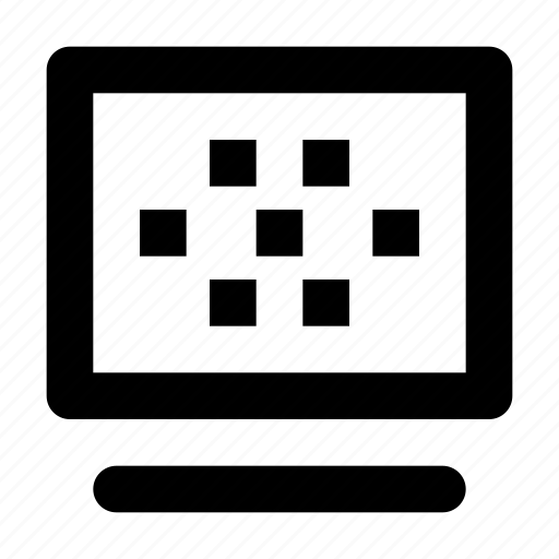 bubble, density, page, pixel density, words icon