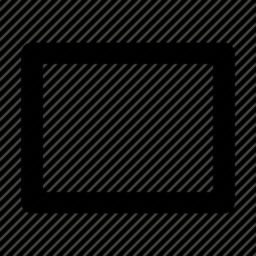 design, rectangle, rectangular, shape, shape tool icon
