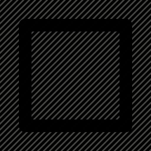 creative, design, geometry, shape, square icon