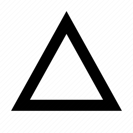 Triangle, abstract, arrow, direction, mountain, pymarid, up icon - Download on Iconfinder