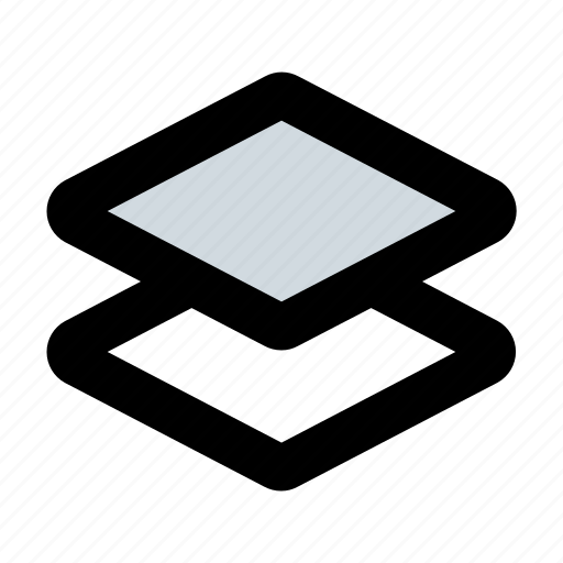 a, layer, layering, layers, stack, stacked layers icon