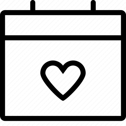 calendar, date, dating, event, love date icon