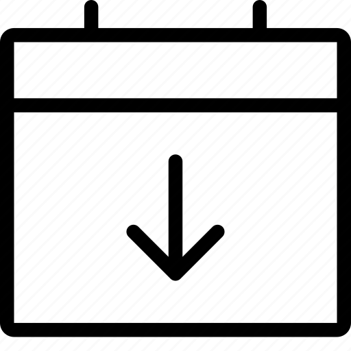 Calendar, download, event icon - Download on Iconfinder
