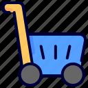 ecommerce, market, shop, trolly icon