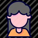 avatar, customer, user, woman
