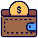 dollar, ecommerce, money, notes, payment, wallet