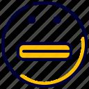 caught, emoji, emoticon, feelings, happy, laugh, smile icon