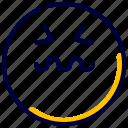 emoji, emoticon, farious, feelings, smiley icon