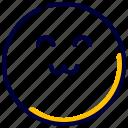 emoji, emoticon, feelings, happy, smiley icon