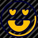 emoji, emoticon, emoticons, feelings, inlove, love icon