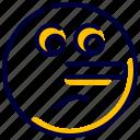 emoticon, expression, feelingspeople, liar, smileys icon